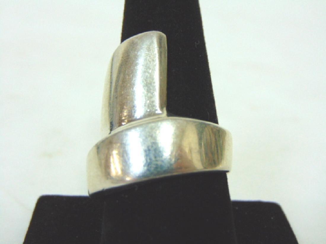 Vintage Estate Sterling Silver Ring - 3