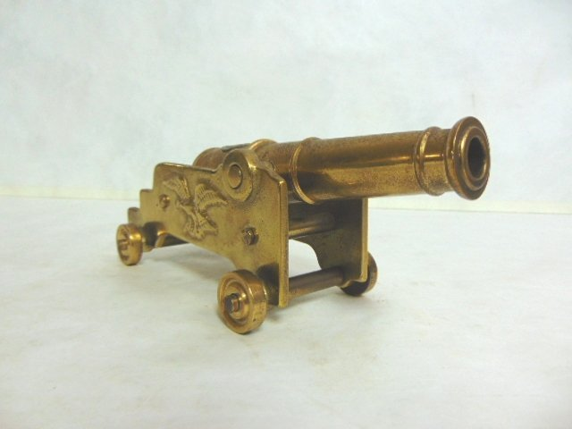 VINTAGE BRASS VIRGINIA METALCRAFTERS CANNON