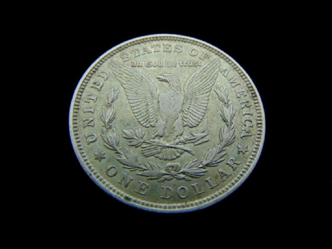 RARE KEY DATE 1921-D MORGAN SILVER DOLLAR COIN - 2