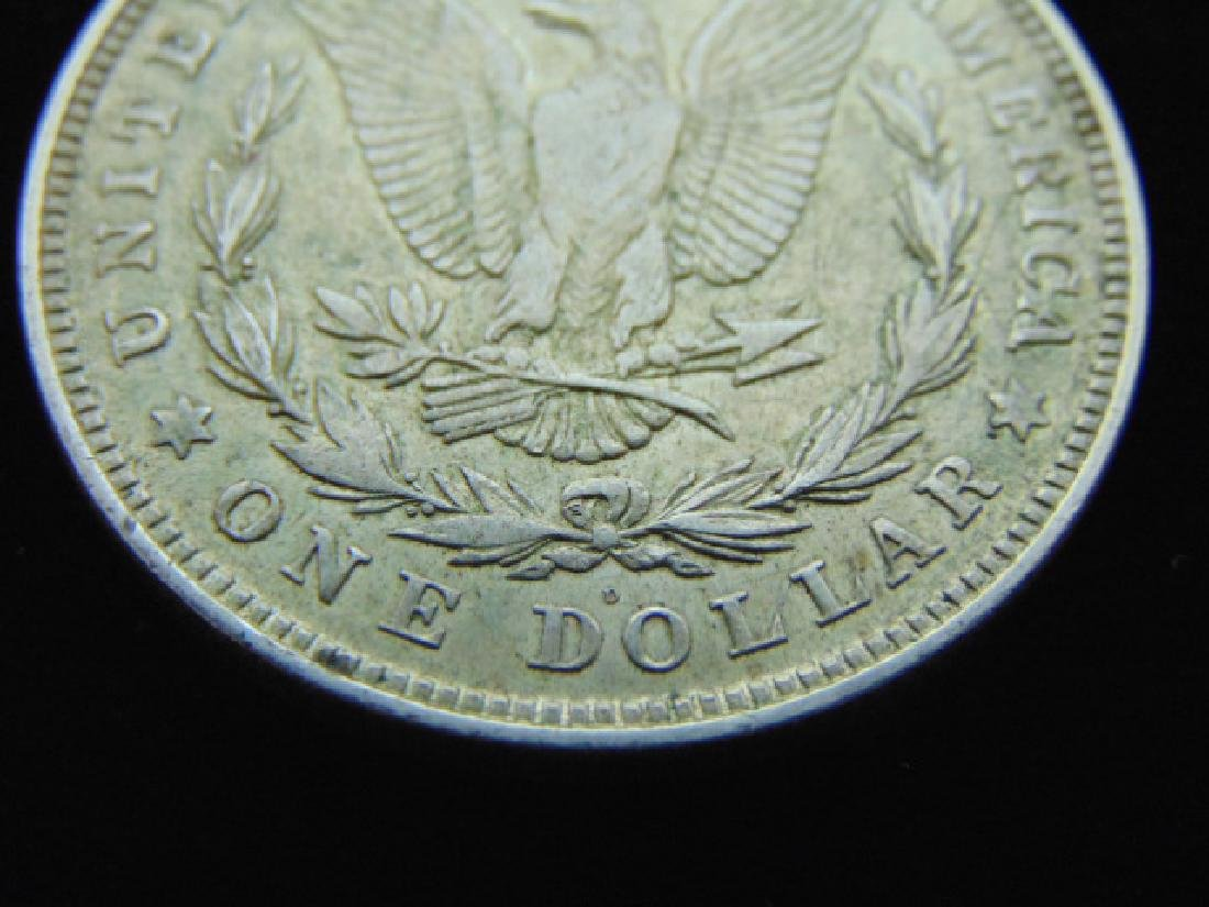 RARE KEY DATE 1921-D MORGAN SILVER DOLLAR COIN - 3