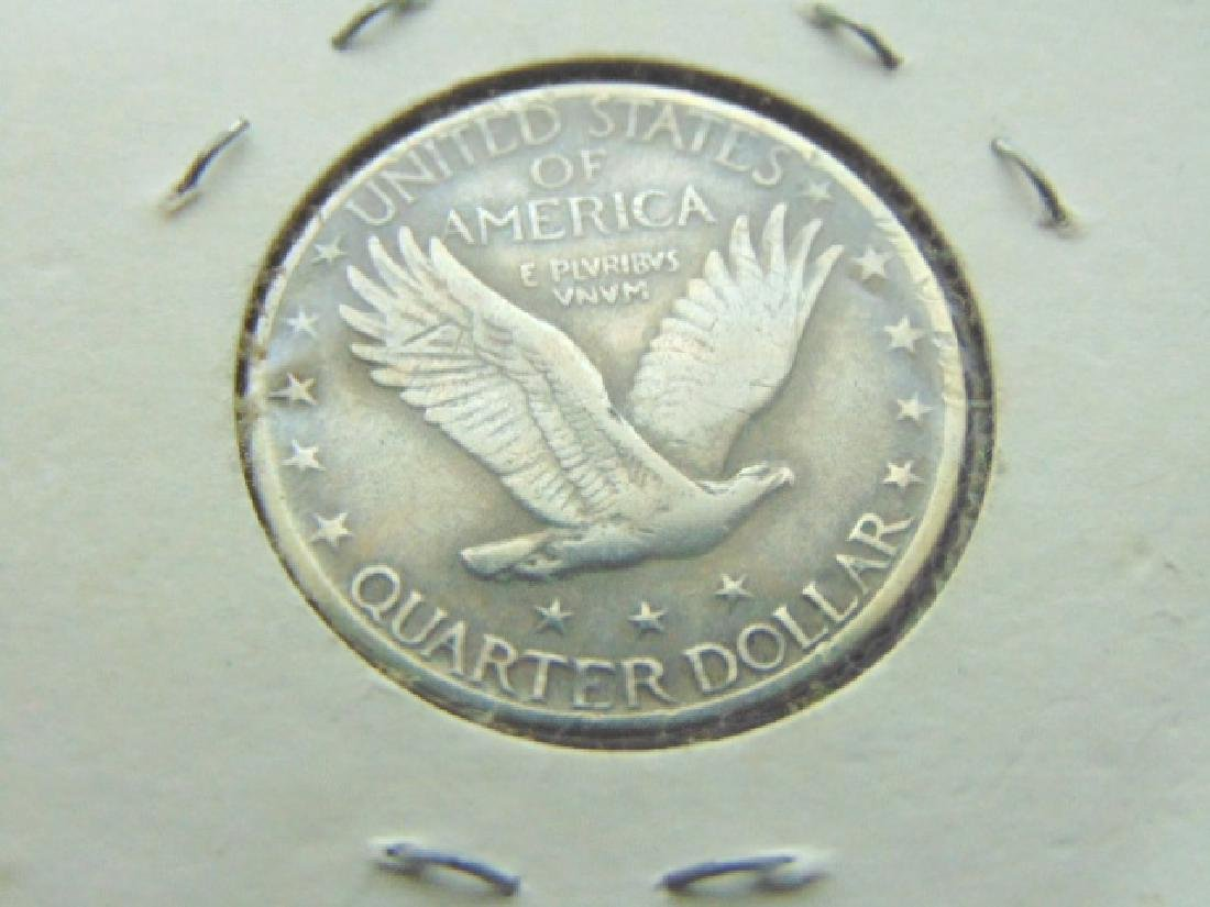 COLLECTIBLE 1929 STANDING LIBERTY QUARTER VGC - 2