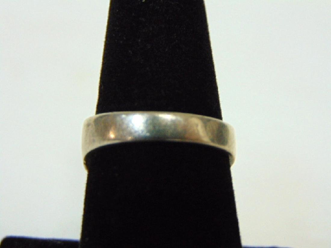 Impressive Sterling Silver & Turquoise Ring - 4