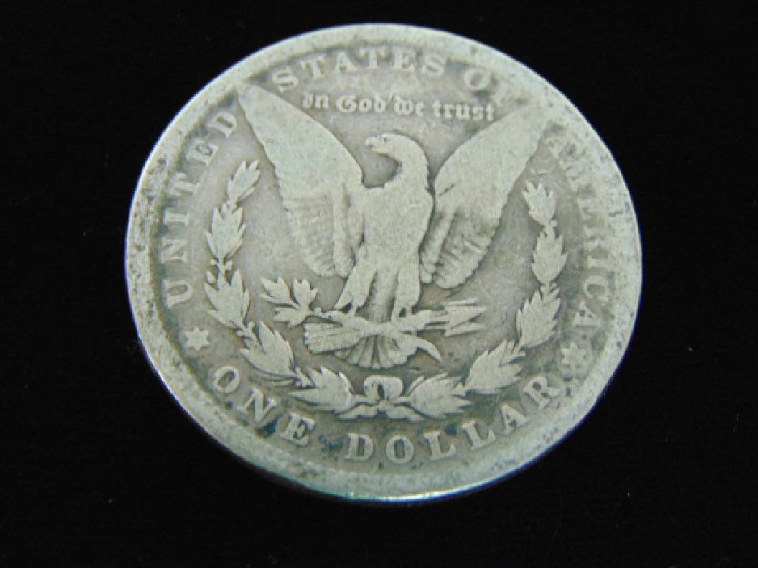 1880  MORGAN SILVER DOLLAR COIN ESTATE FIND - 2