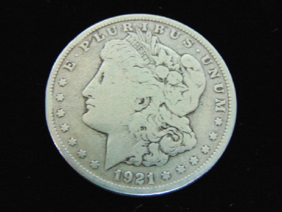 1921-S  MORGAN SILVER DOLLAR COIN ESTATE FIND