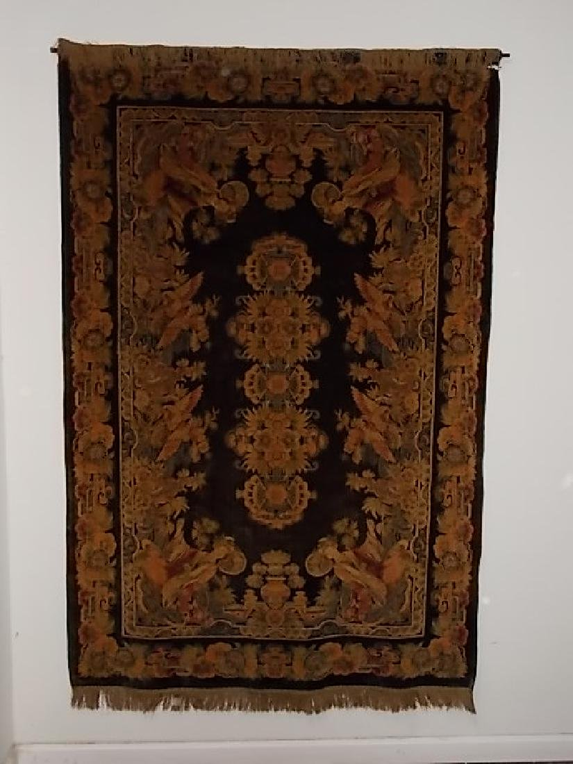 LG ANTIQUE CHINESE WALL TAPESTRY