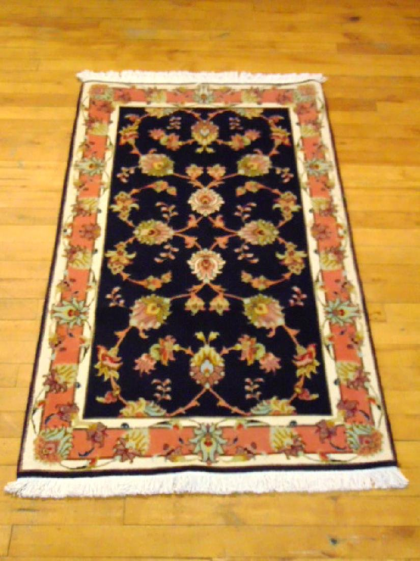 "HIGH QUALITY PERSIAN TABRIZ AREA RUG 2'3"" X 4'"