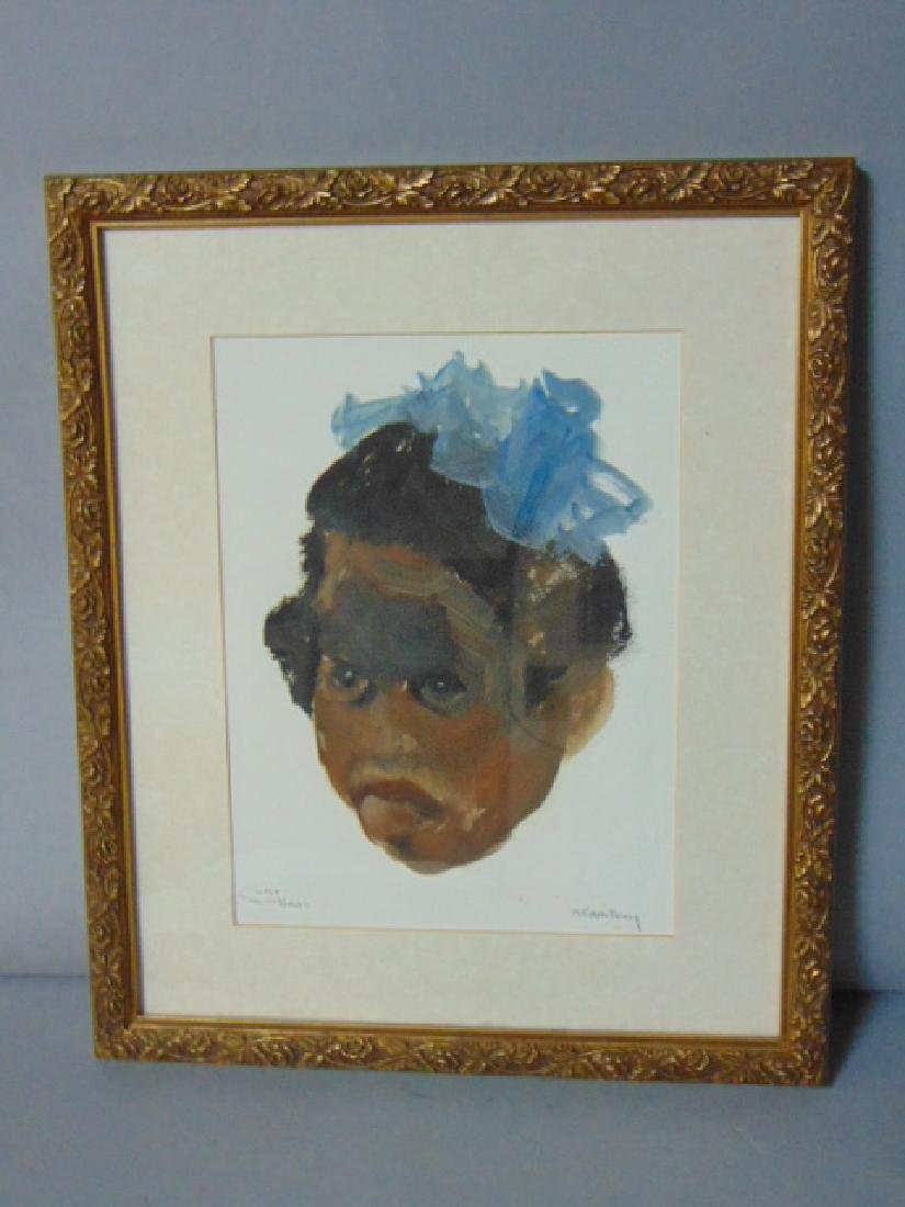 VINTAGE PAINTING BY LISTED ARTIST R.F. WHITNEY