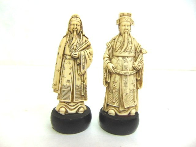VINTAGE CHINESE DEITY FIGURES
