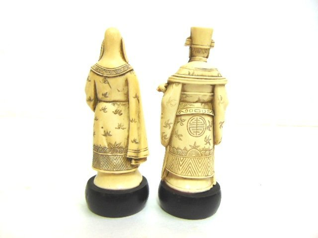 VINTAGE CHINESE DEITY FIGURES - 2