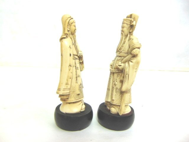 VINTAGE CHINESE DEITY FIGURES - 4