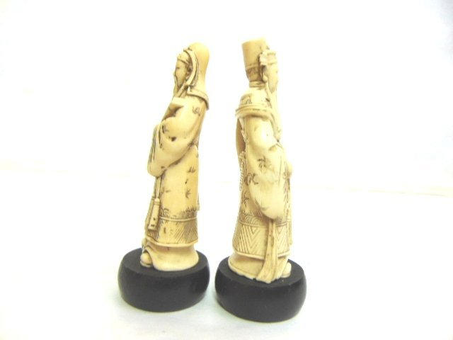 VINTAGE CHINESE DEITY FIGURES - 5