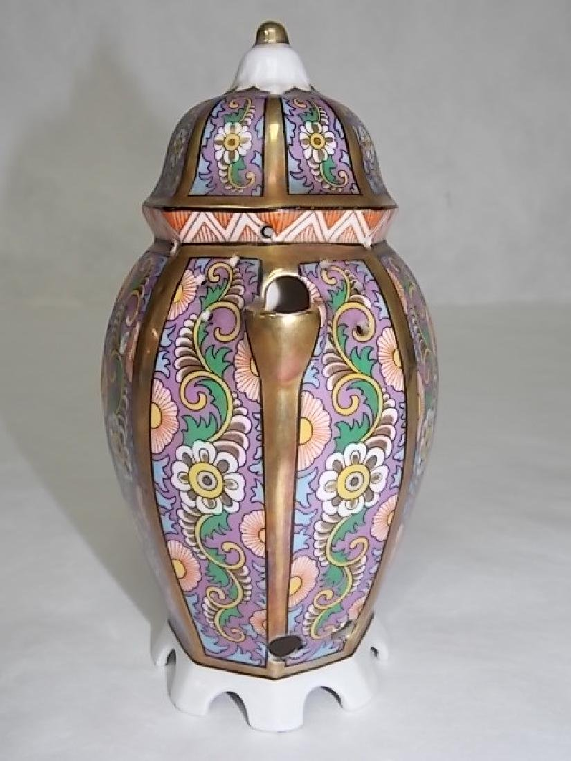ANTIQUE FRENCH ? ART DECO PORCELAIN PERFUME BURNER