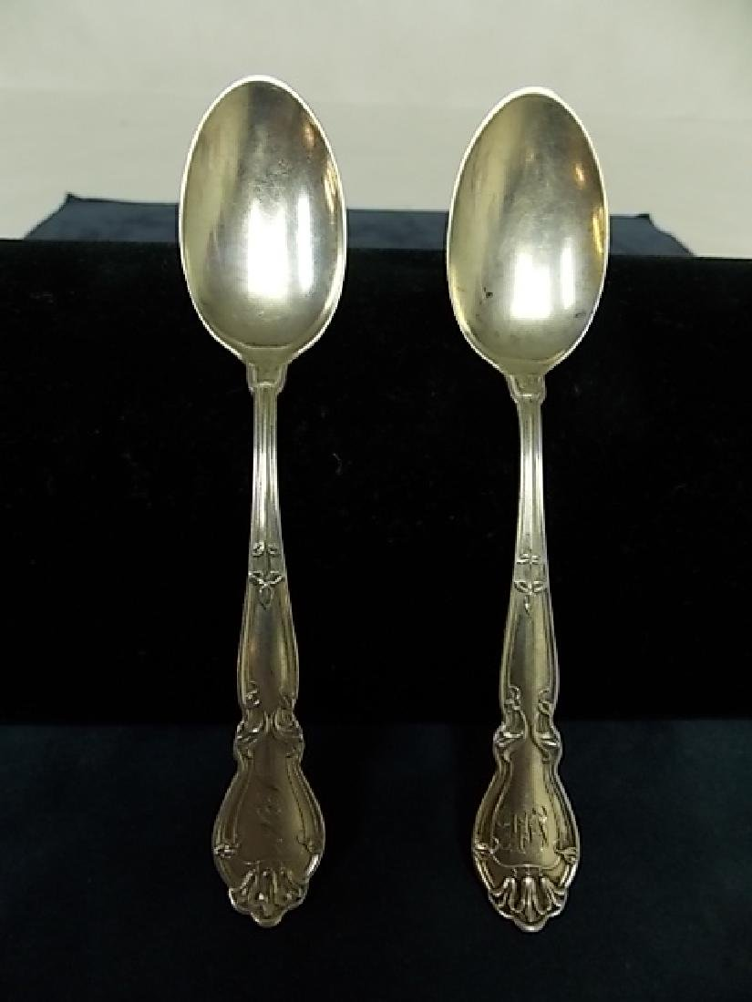 PR ANTIQUE J.D JENSEN & CO. 925 STERLING SILVER SPOONS
