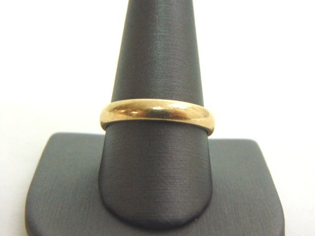 VINTAGE ESTATE MENS 14K GOLD WEDDING BAND RING 6.14g