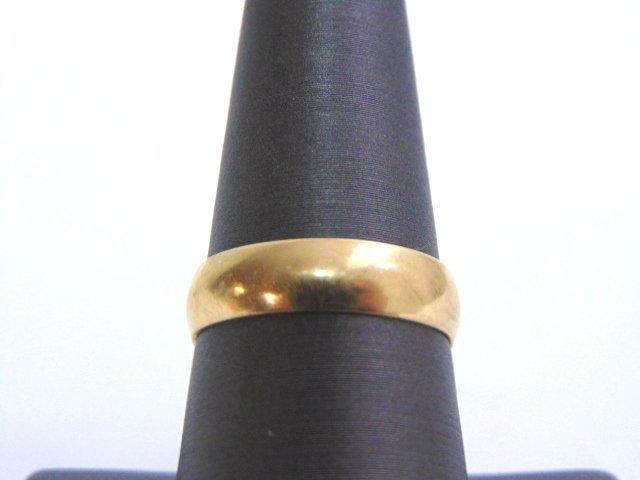 VINTAGE ESTATE 10K GOLD WEDDING BAND 2.7g