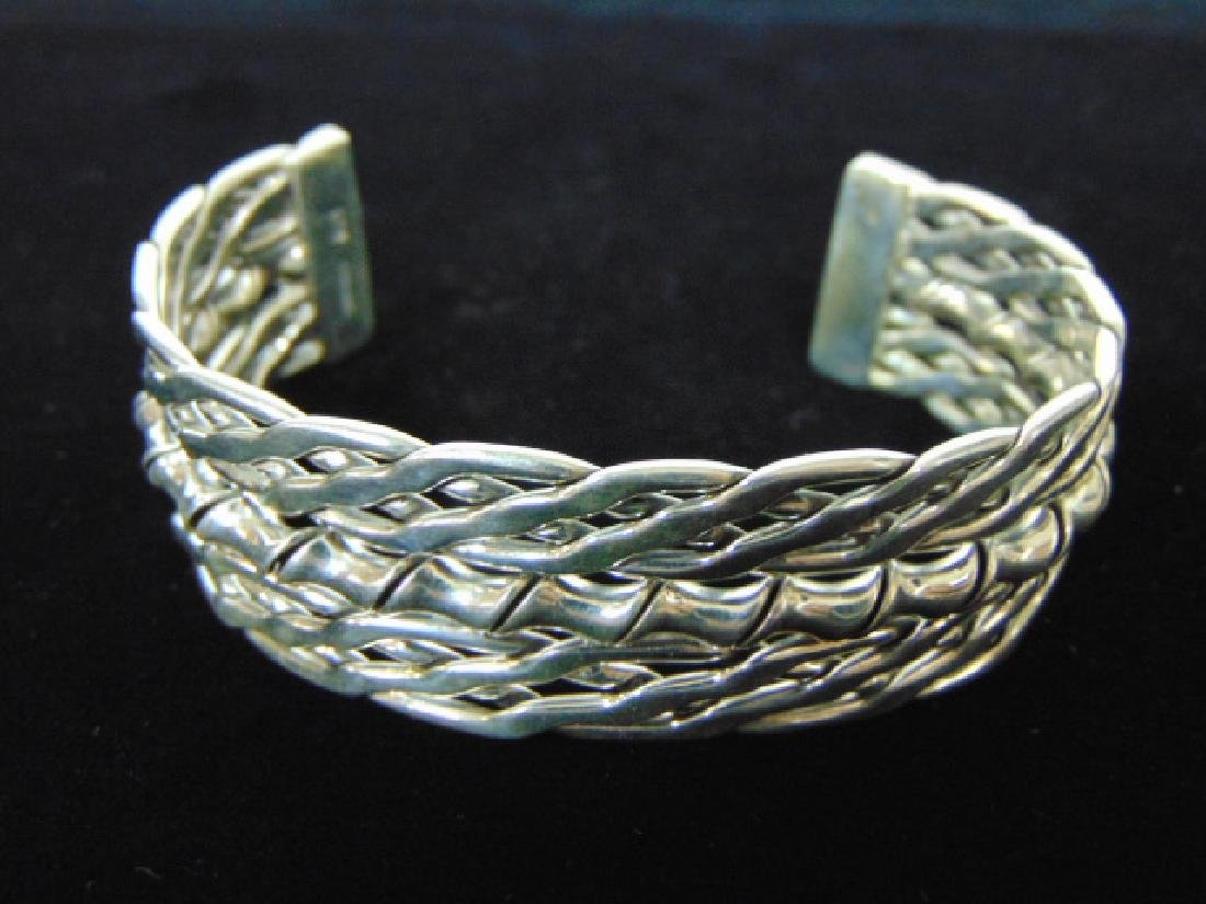WOMENS VINTAGE ESTATE STERLING CUFF BRACELET