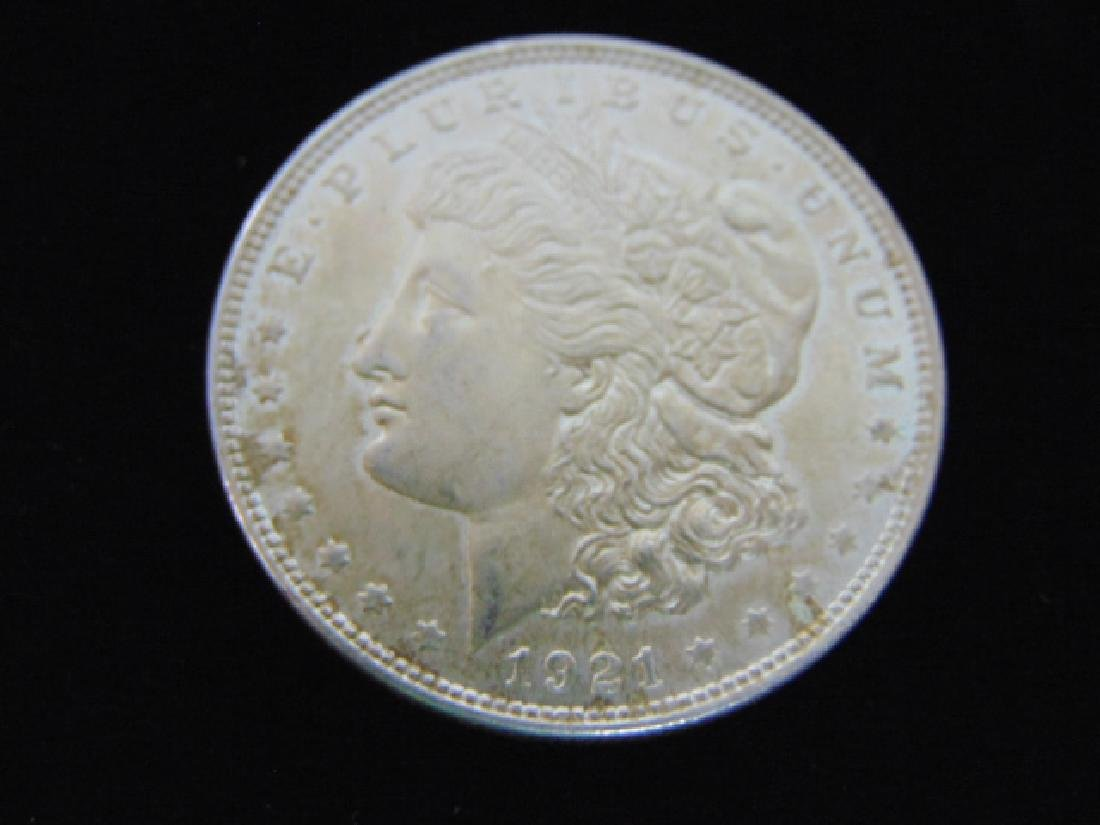 1921  MORGAN SILVER DOLLAR COIN ESTATE FIND