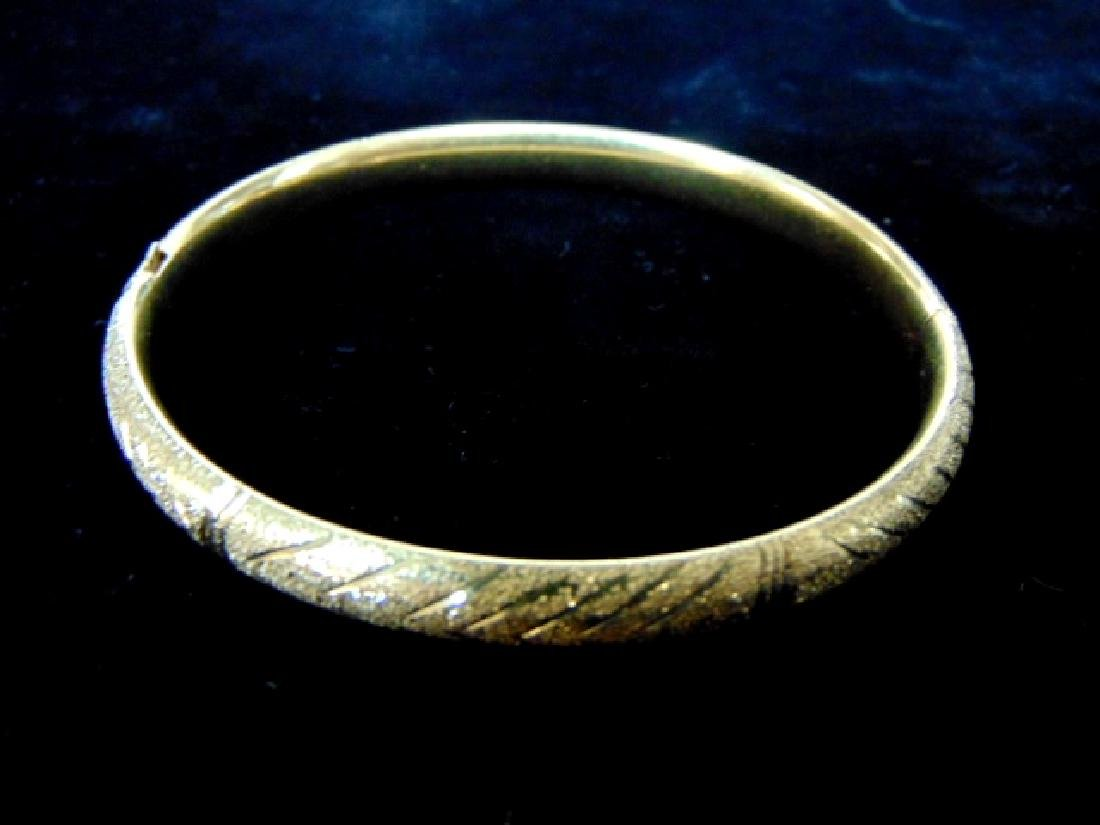 Womens Vintage Estate 14k Gold Bracelet  13.5g