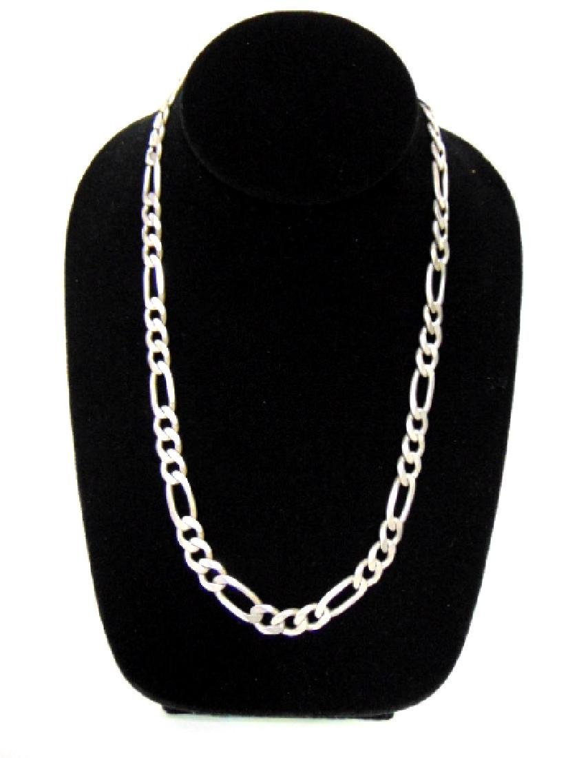 Vintage Estate .925 Sterling Silver Chain Necklace