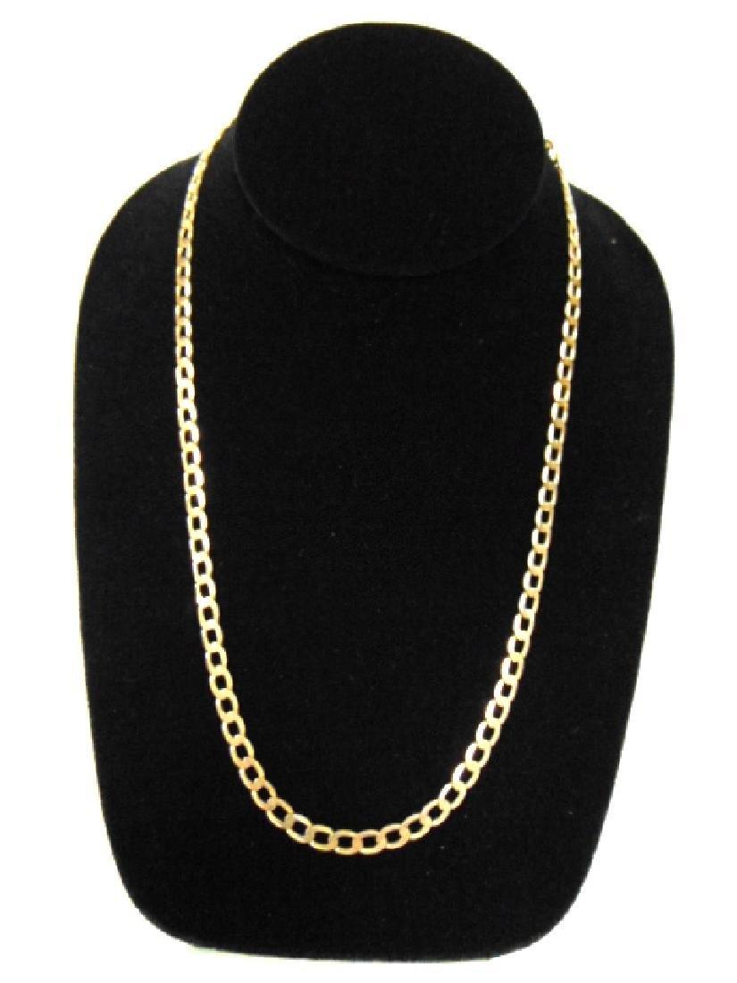 Vintage Estate 10k Gold Chain Necklace