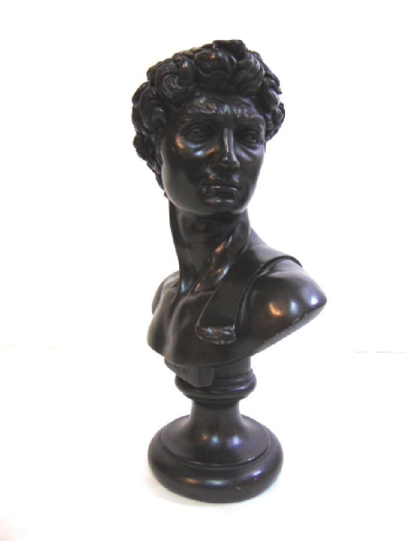 1966 Austin Production Art Chalkware Statue of David