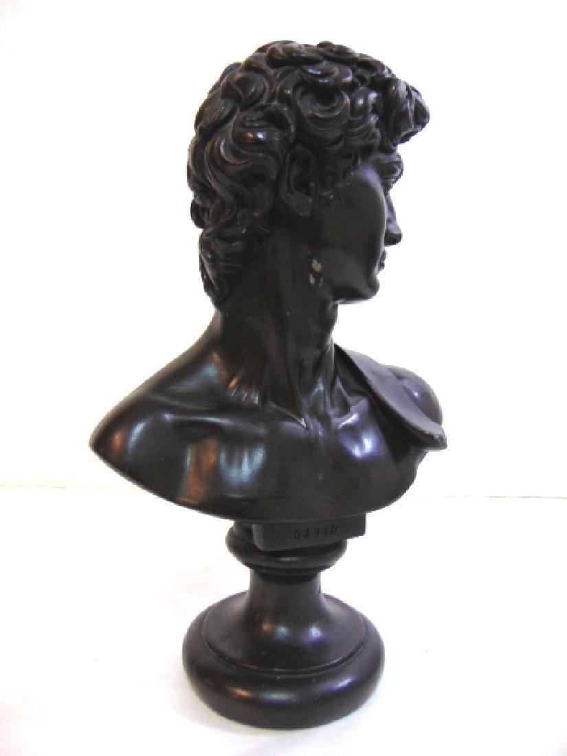 1966 Austin Production Art Chalkware Statue of David - 2
