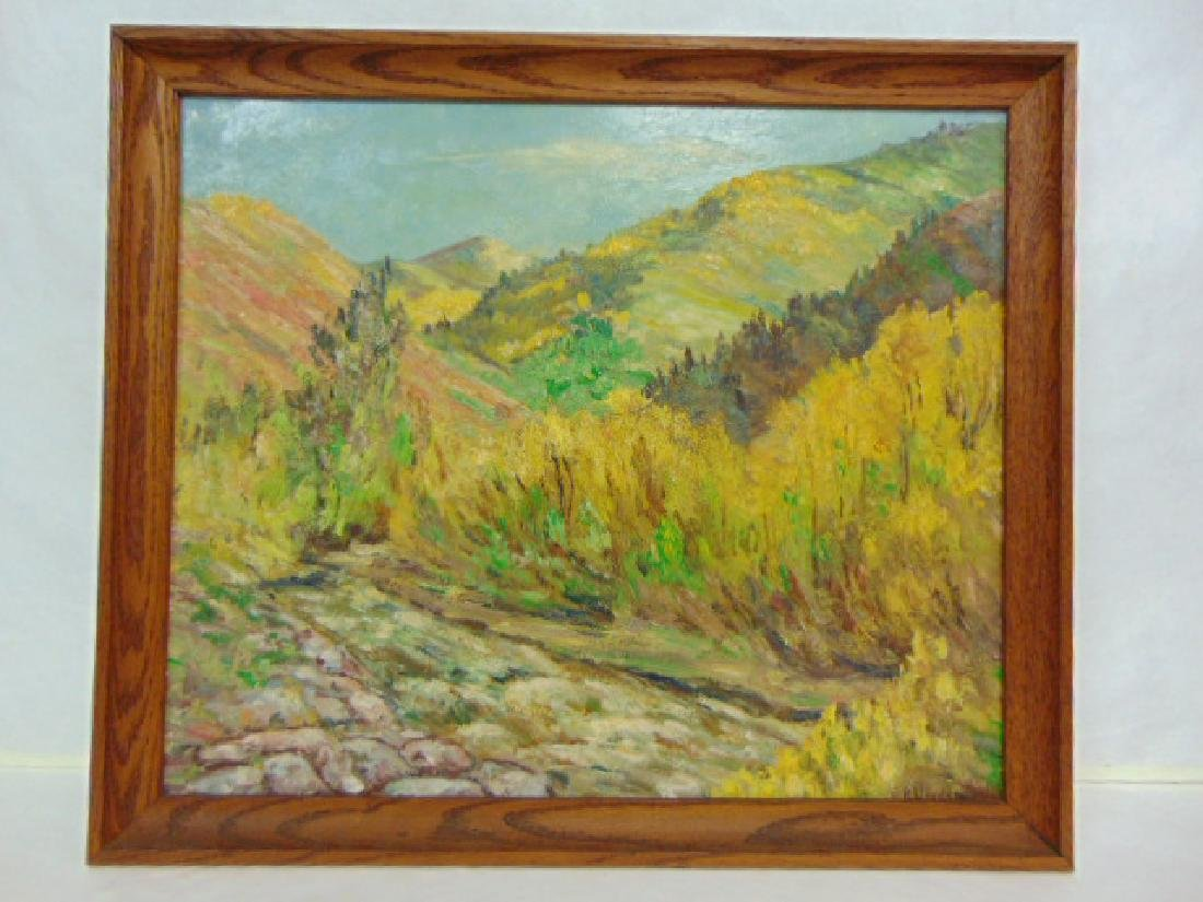 BEAUTIFUL  SOUTHWEST IMPRESSIONIST PAINTING OF UTAH