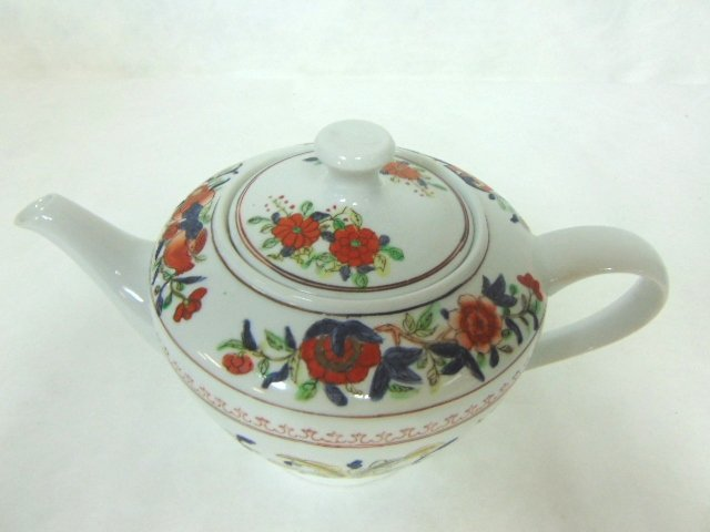 COLLECTIBLE HAND DECORATED CHINESE PORCELAIN TEAPOT - 3