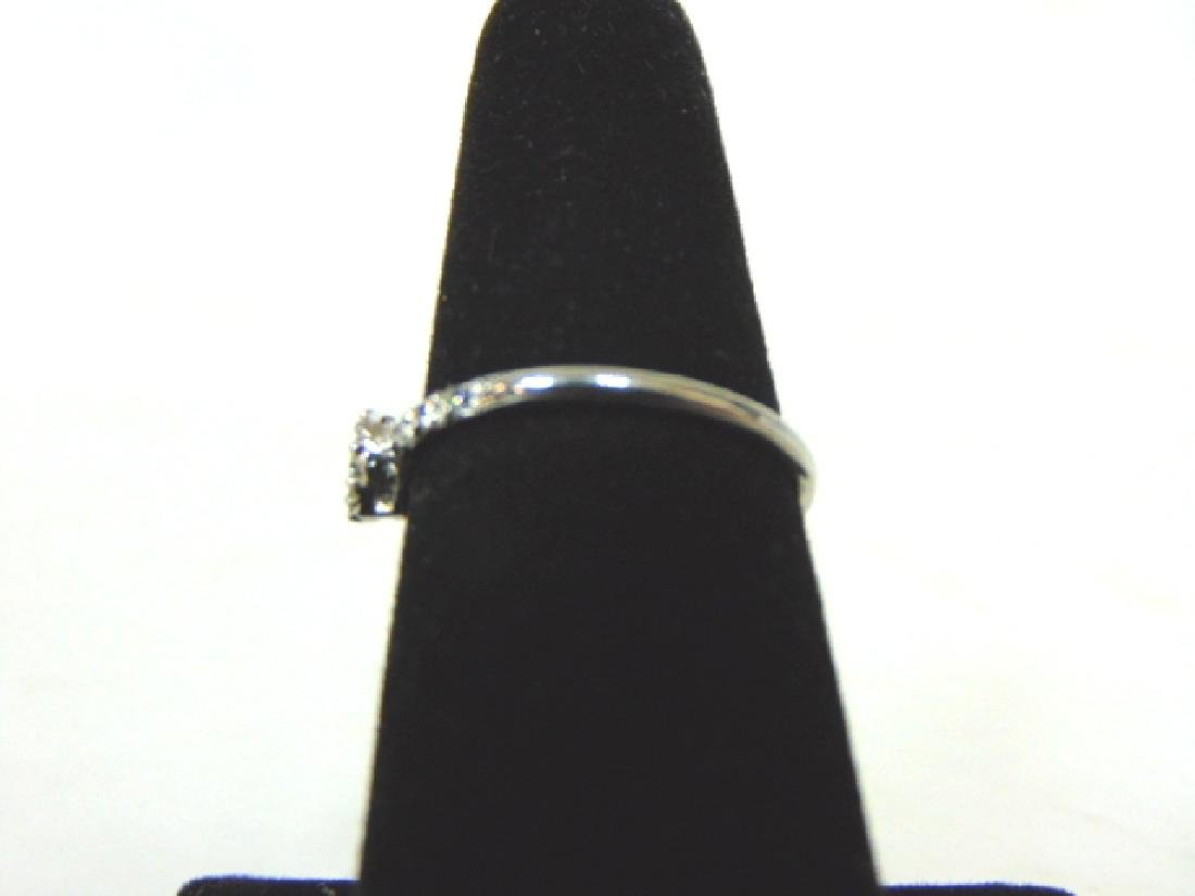 Womens Sterling Silver .925 Ring w/ CZ Stone 1.6g - 3
