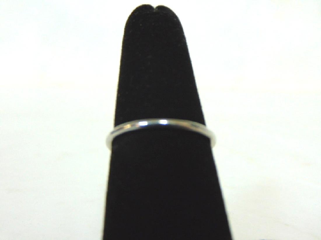 Womens Sterling Silver .925 Ring w/ CZ Stone 1.6g - 4