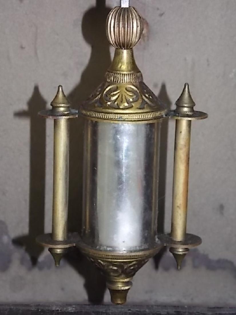 ANTIQUE CATHEDRAL MANTLE CLOCK WATERBURY THOMAS GILBERT - 4