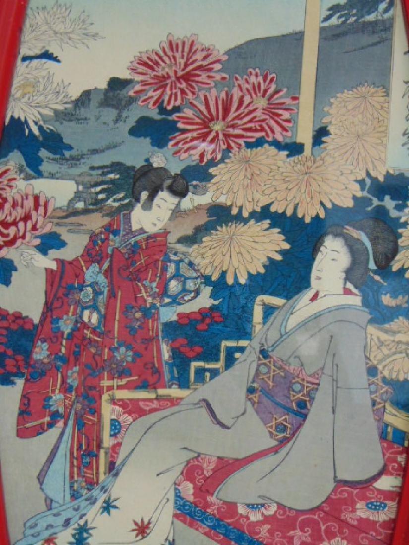 ANTIQUE JAPANESE WOODBLOCK PRINT - 3