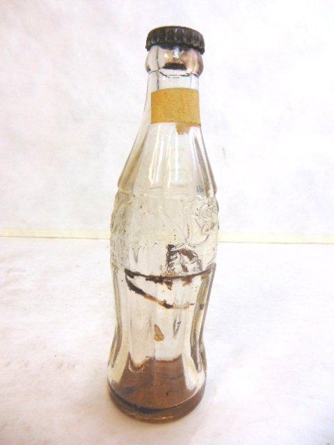 1950's Collectible Coca Cola Bottle Saudi Arabia - 3