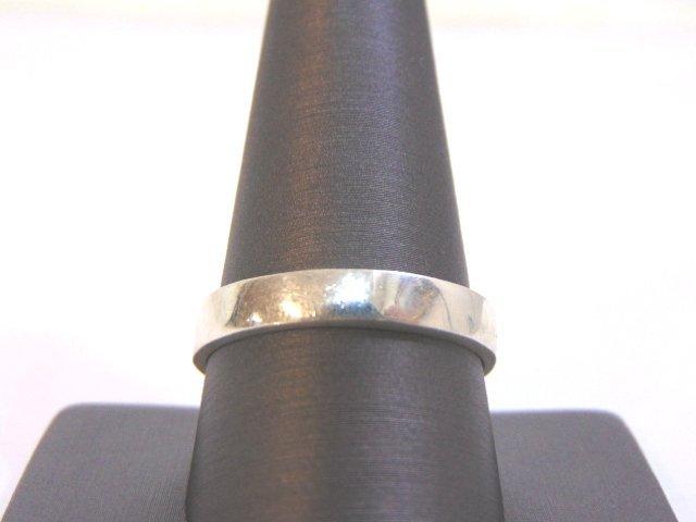 Mens Sterling Silver Ring w/ Malachite - 4