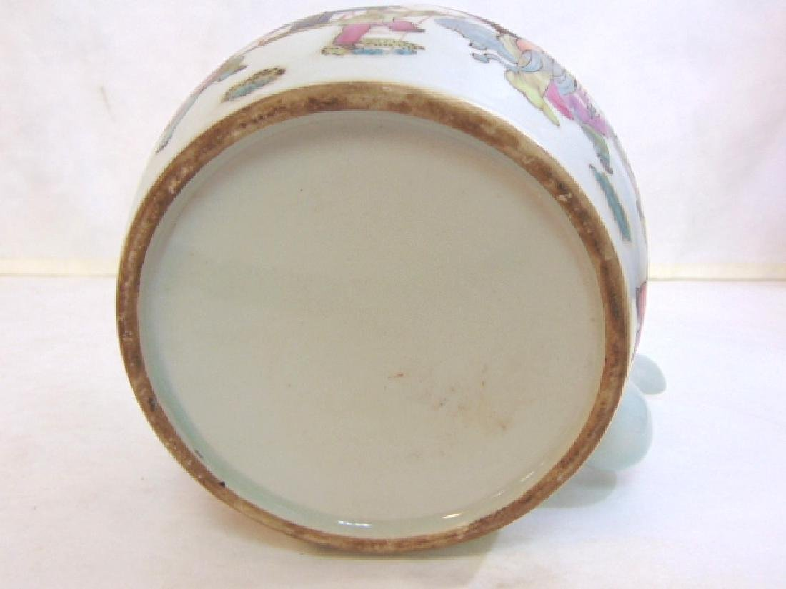COLLECTIBLE CHINESE PORCELAIN TEAPOT - 6