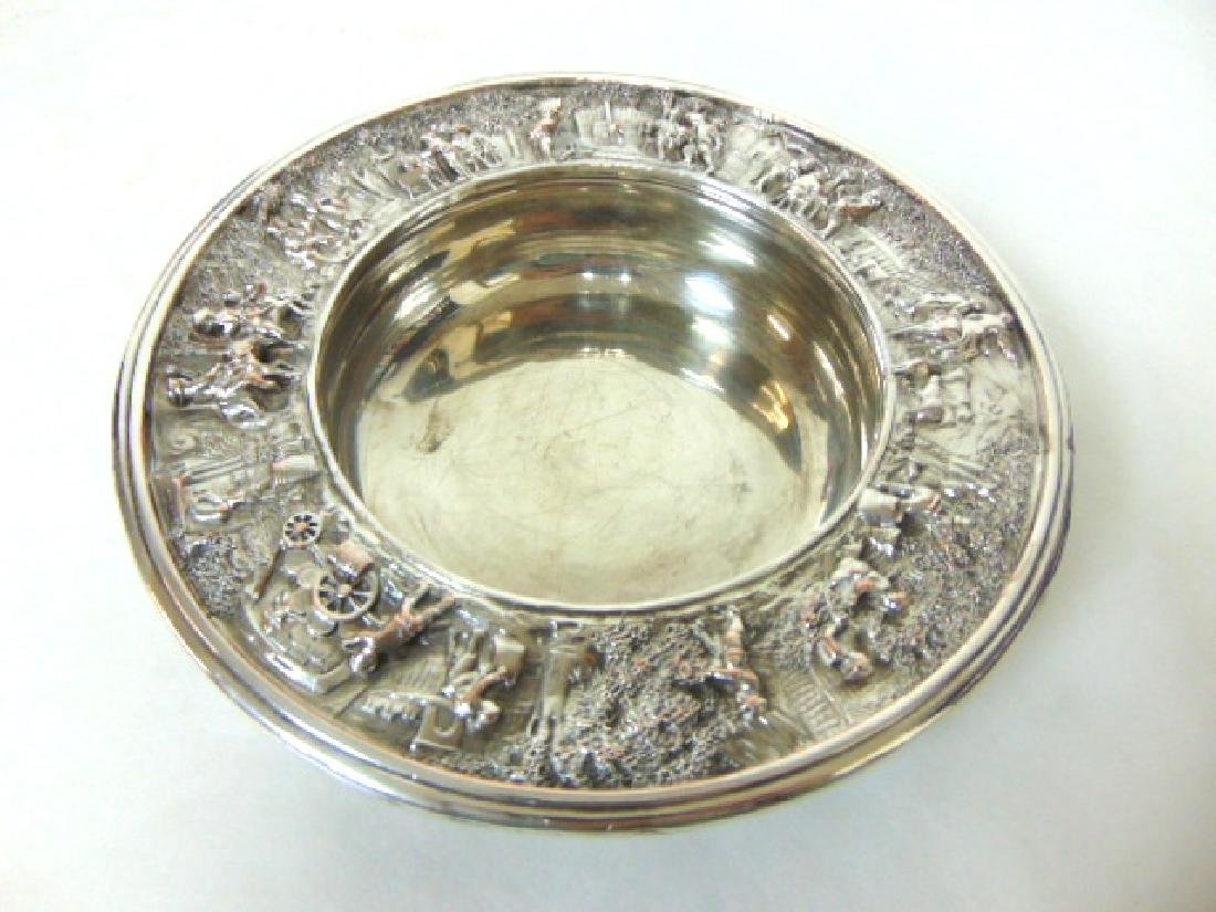 ANTIQUE BARBOUR SILVERPLATE CHAMPAGNE COASTER