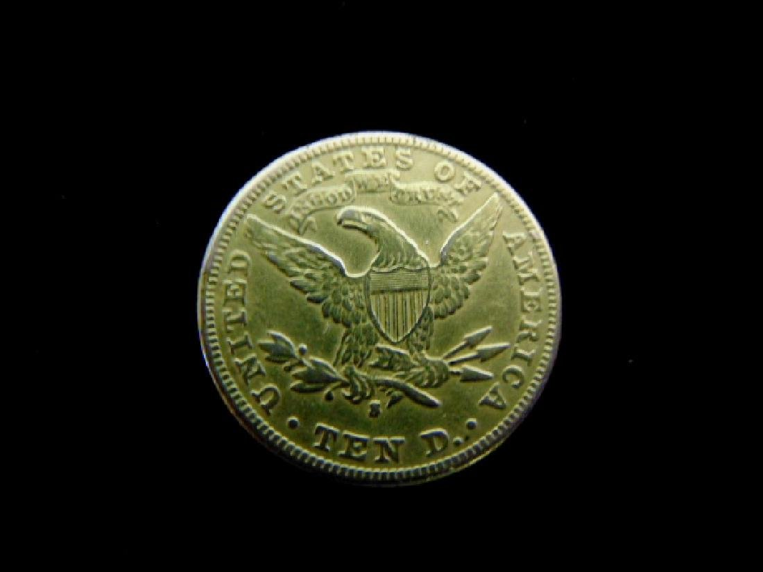 Antique Estate Find 1906-S U.S. $10 Gold Liberty Coin - 2
