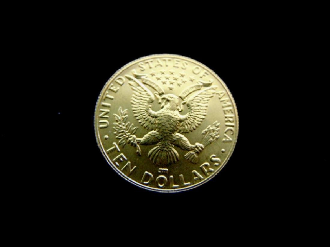 Estate Find U.S. 1984 Olympic $10 Gold Coin - 2