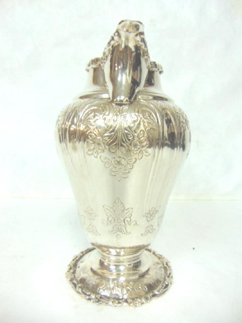 Antique Samuel Kirk Coin Silver Water Pitcher - 3