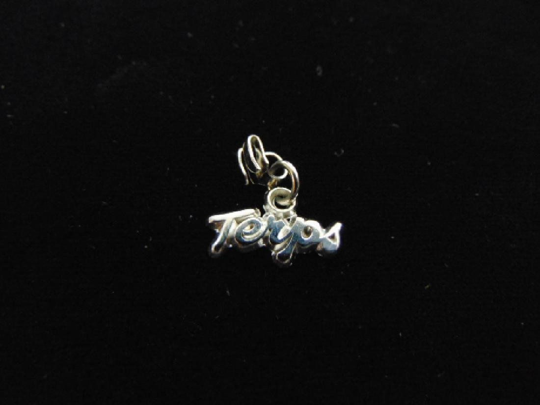 Womens Estate Sterling Silver Maryland Terps Charm