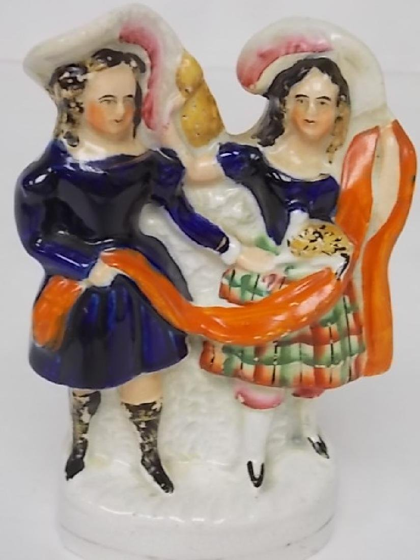 ANTIQUE COLLECTIBLE 19TH C. STAFFORDSHIRE FIGURE - 5