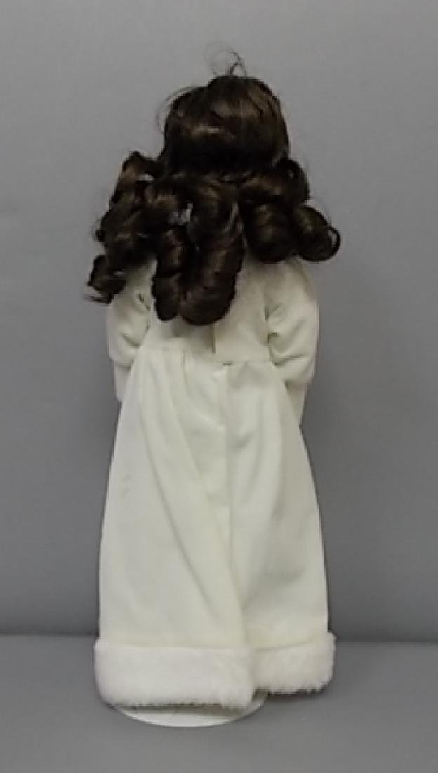 COLLECTIBLE RENEE WINTER BABY PORCELAIN BISQUE DOLL - 6