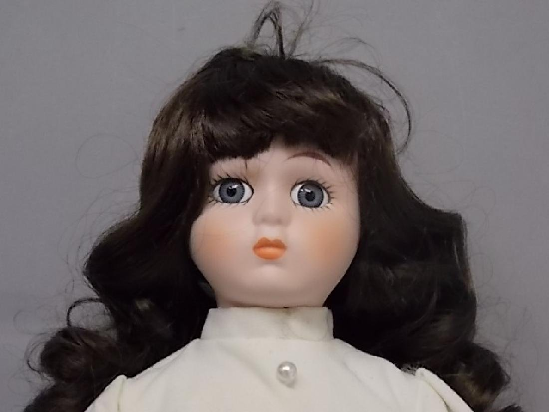 COLLECTIBLE RENEE WINTER BABY PORCELAIN BISQUE DOLL - 7