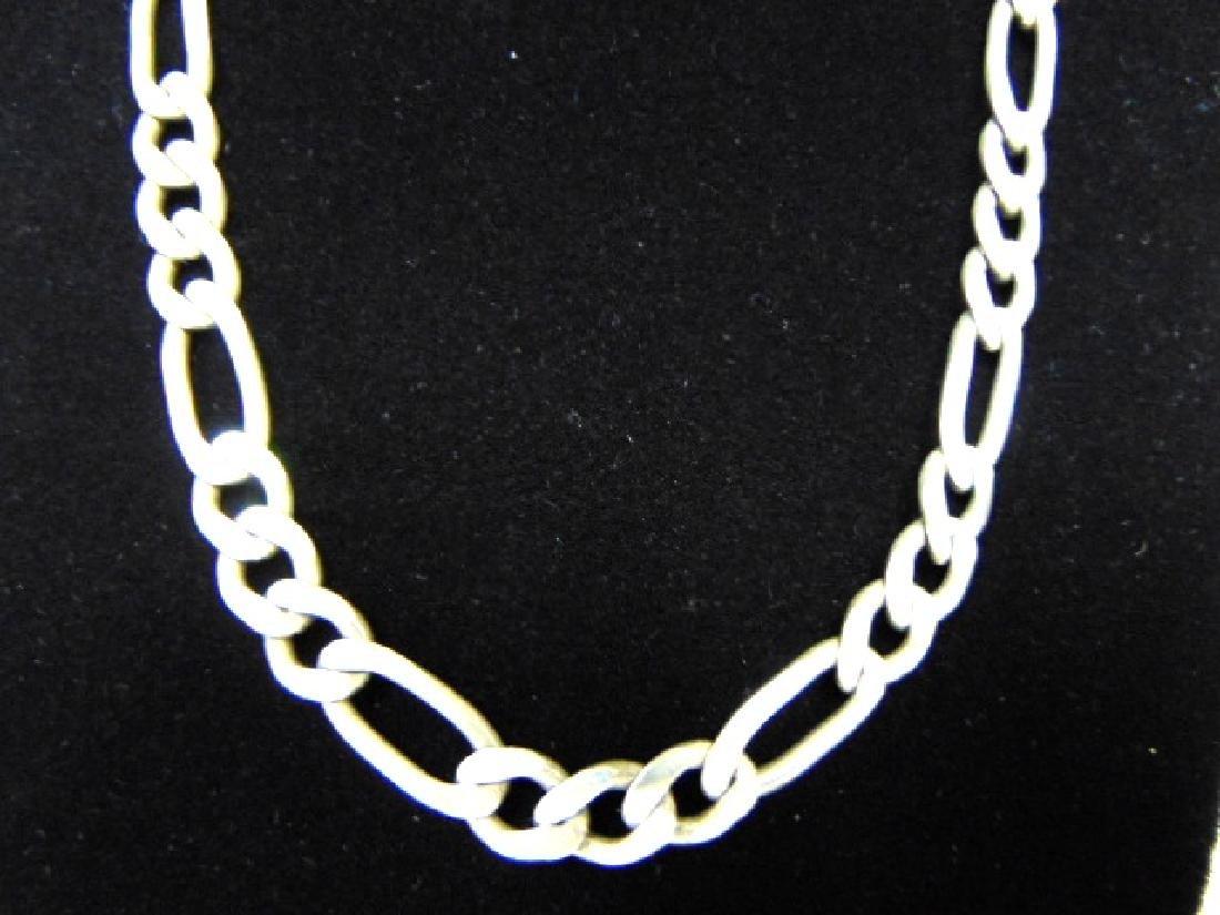Vintage Estate .925 Sterling Silver Chain Necklace - 2