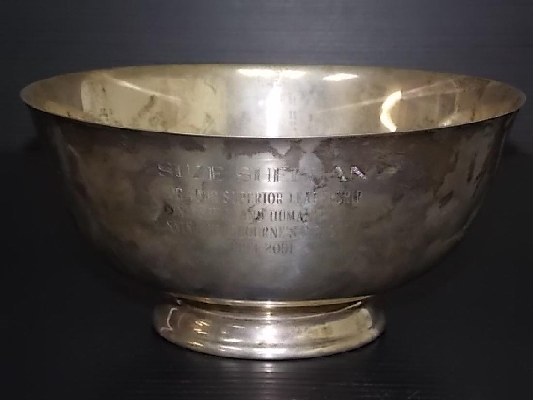 STERLING SILVER BOWL BY REED & BARTON OVER A POUND
