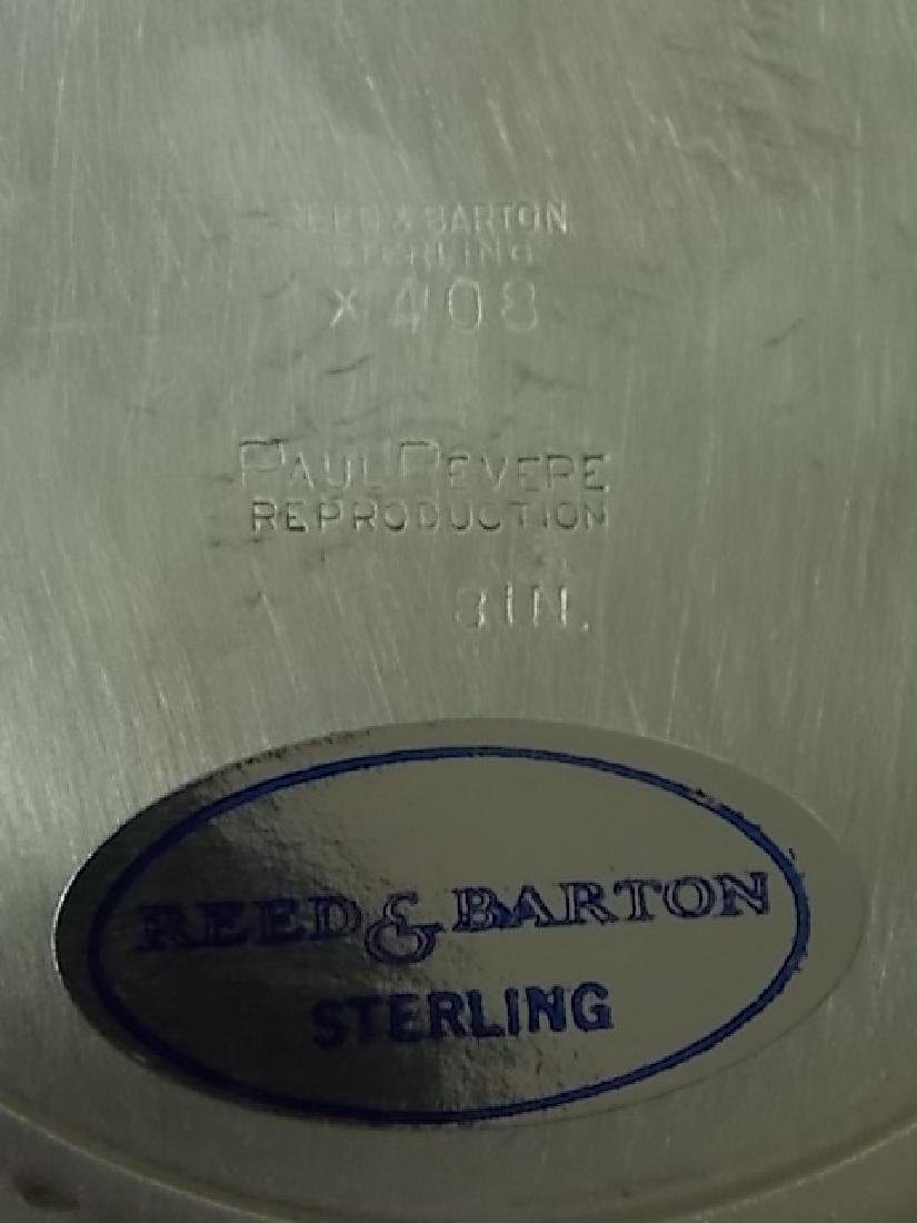 STERLING SILVER BOWL BY REED & BARTON OVER A POUND - 4