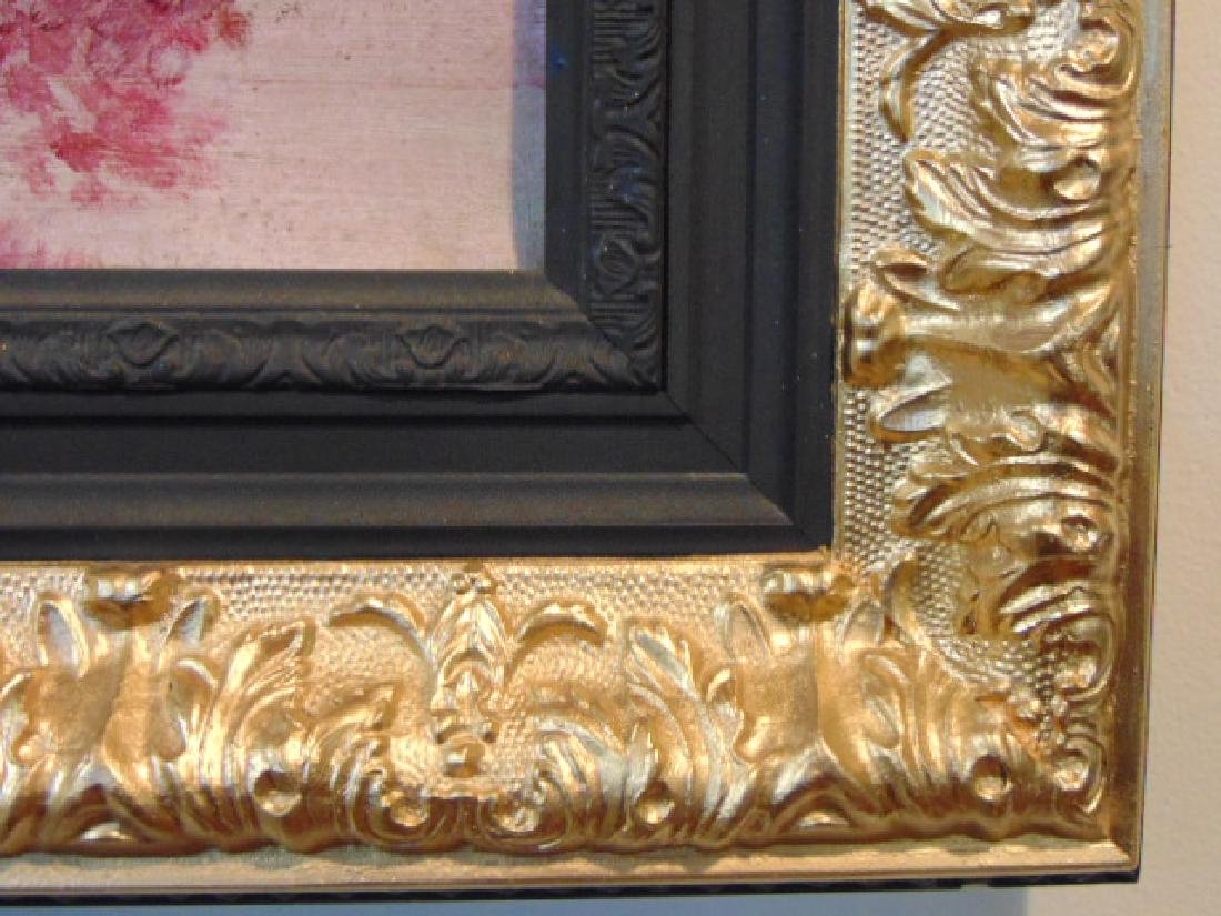 Antique European Oil on Canvas Painting French ? 1 of 2 - 4
