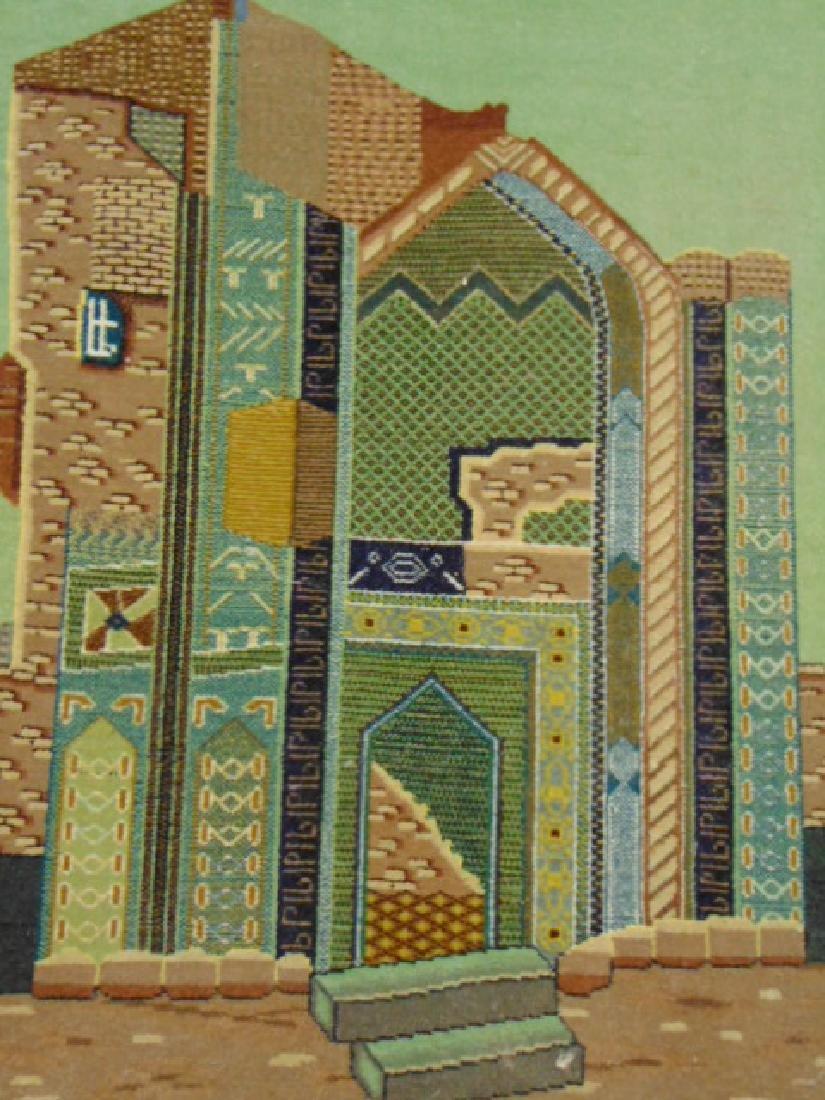 "HIGH QUALITY PERSIAN TABRIZ AREA RUG 3'2"" X 2'4"" - 2"