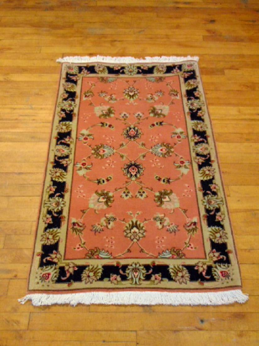 "HIGH QUALITY PERSIAN TABRIZ AREA RUG 2'5"" X 4'"
