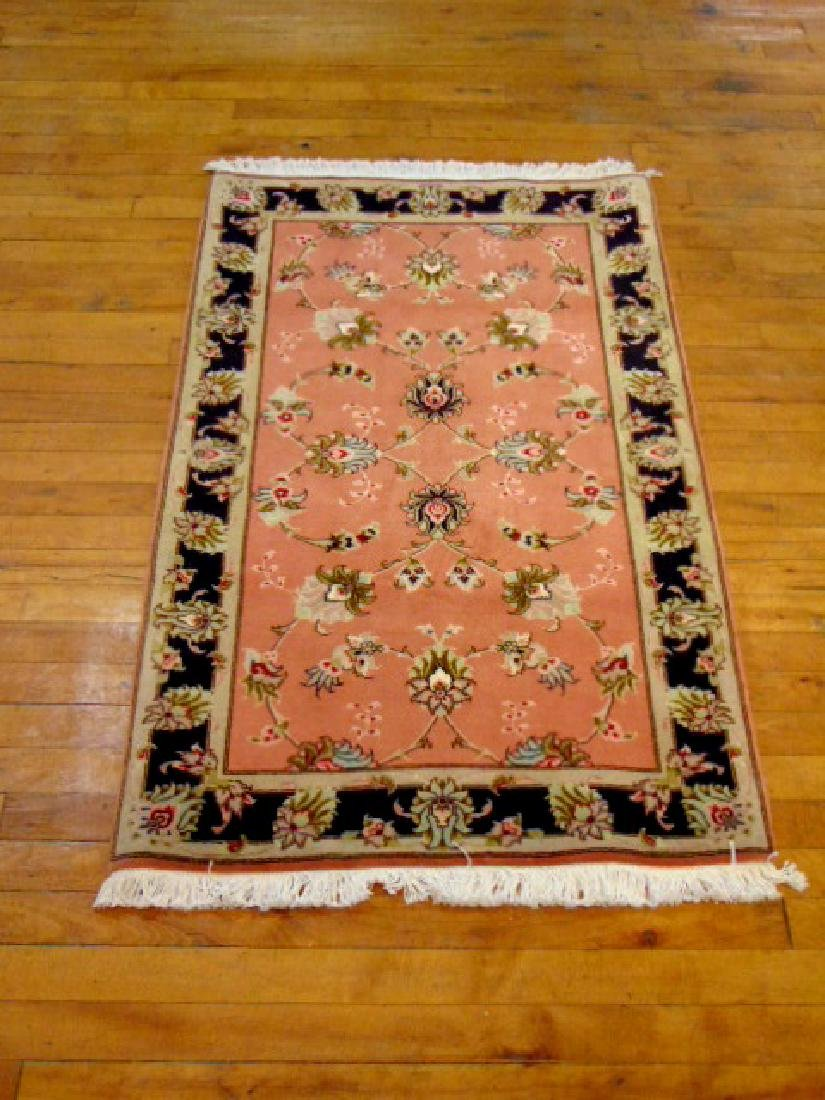"HIGH QUALITY PERSIAN TABRIZ AREA RUG 2'5"" X 4' - 2"